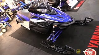 1. 2017 Yamaha RS Vector X-TX Sled - Walkaround - 2016 Toronto ATV Show