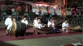 Traditional Thailand Music Chiang Mai 2012 ยี่เป็งเชียงใหม่