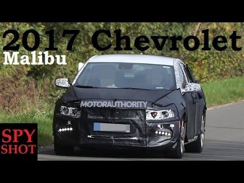 2017 Chevrolet Malibu Spy Shot !