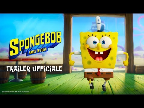 Preview Trailer SpongeBob - Amici in Fuga, trailer ufficiale italiano