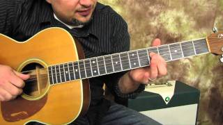 Thugz Mansion - 2pac - Acoustic Guitar Lesson Tutorial - How to Play on Guitar