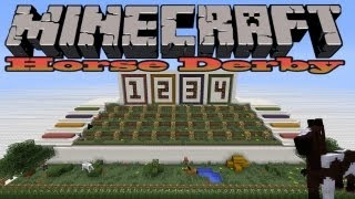 Horse Racing Mini Game - Minecraft Horse Derby
