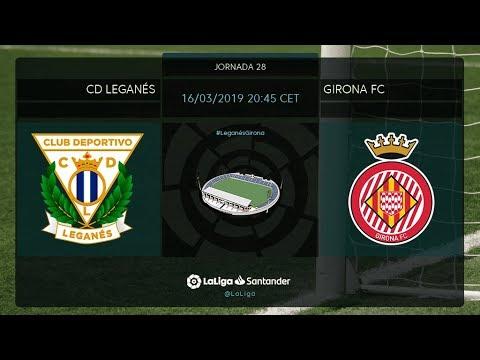 Calentamiento CD  Leganés vs Girona FC - Thời lượng: 38 phút.