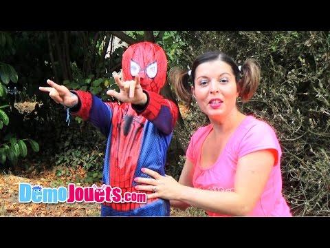 Déguisement The Amazing Spider-Man 2 - Démo Jouets