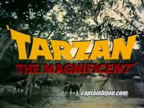 1960 TARZAN THE MAGNIFICENT - Trailer - Gordon Scott, Jock Mahoney
