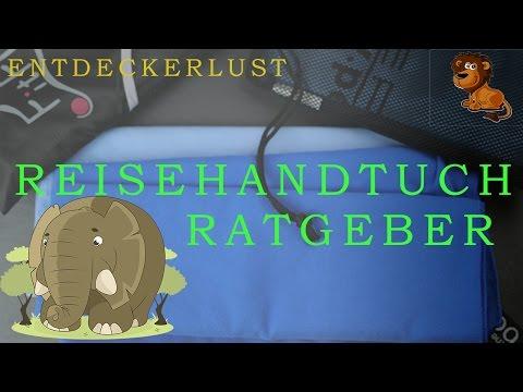 ✈️ Reisehandtuch Vergleich ✈️ -Ratgeber |  Mikrofaser-Handtuch Test