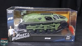 Nonton Fast & Furious 8 - Tej's Ripsaw - Jada Toys 1:24 Model Unboxing Film Subtitle Indonesia Streaming Movie Download