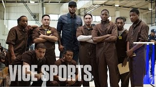 Carmelo Anthony Visits Rikers Island: Stay Melo