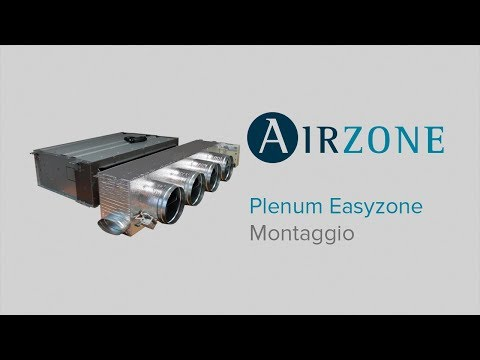 Plenum Easyzone: Montaggio
