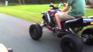 3. 2005 Suzuki Quadsport Z400 Riding Out