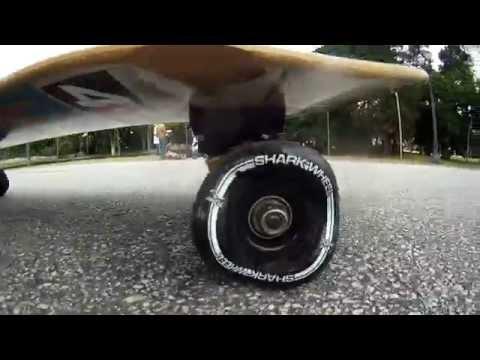 Shark wheels: um rolê de skate com rodas quadradas