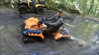 7. 2016 Polaris Sportsman High Lifter 850 Mudding
