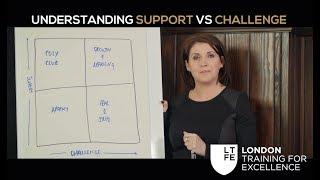 Understanding Support Vs. Challenge