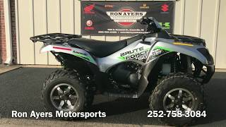 6. 2019 Kawasaki Brute Force 750 4x4i EPS