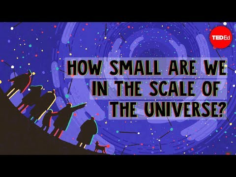 How Small Are We In The Scale Of The Universe