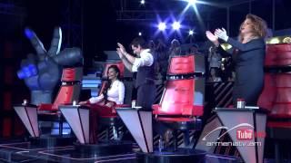 Erna Mirzoyan vs. Meline Galoyan,Domino - The Voice of Armenia – The Batles – Season 3