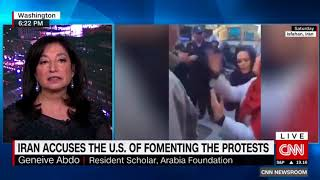 Geneive Abdo speaks with CNN International about Iran Protests