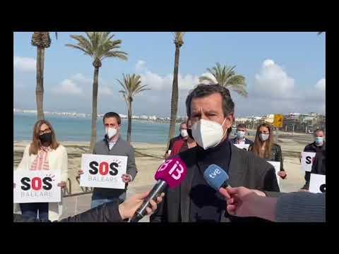 El PP presentarà iniciatives de suport a SOS Turisme a totes les institucions