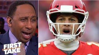 Stephen A. reacts to Patrick Mahomes and the Chiefs scoring 51 points on the Texans   First Take