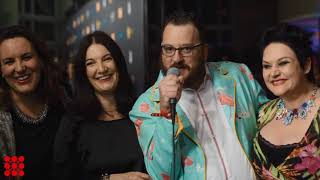 Red Carpet Interviews Alan Edgar - Executive Creative Director, TBWA Caroline Coughlan - Marketing Manager, Antalis Shaun ...