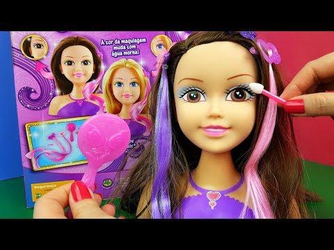 Sparkle Girlz Maquiadora Maquiagem e Penteado Tia Fla Kids