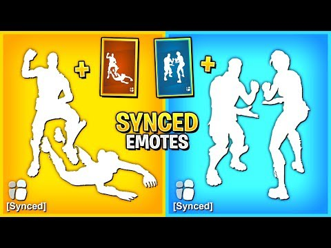 These Fortnite Emotes should be SYNCED EMOTES..!