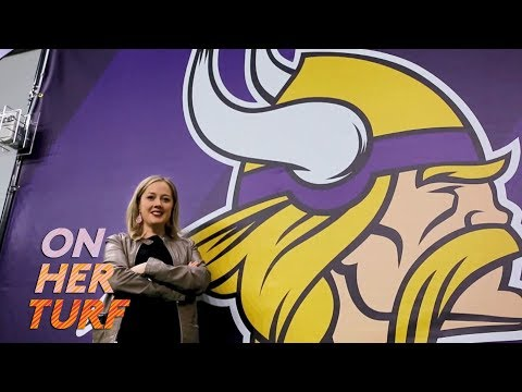 Video: Vikings' Anne Doepner on why she embraces being a woman in football I On Her Turf I NBC Sports