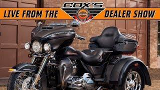 10. 2019 Harley-Davidson FLHTCUTG Tri Glide First Look!