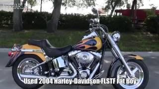 6. 2004 Harley Davidson Fat Boy for sale in Lakeland FL