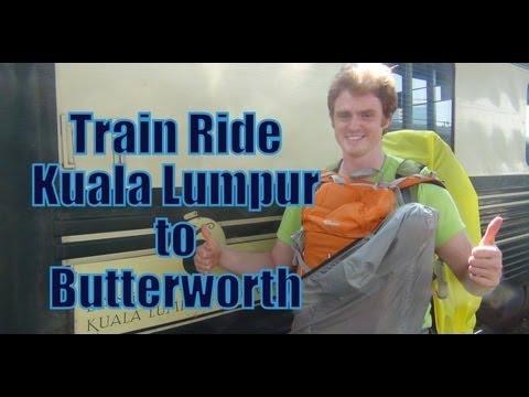 Train Ride From Kuala Lumpur To Butterworth, Malaysia