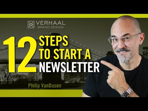 How To Start a Newsletter: 12 Steps