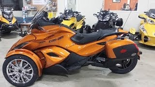 8. 2014 Can-Am Spyder ST Limited First Look