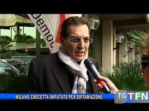 Milano, Crocetta imputato perdiffamazione