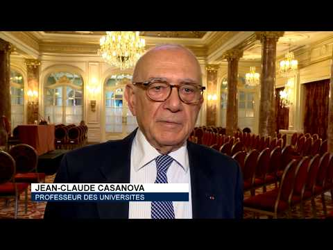 Conférence de Jean-Claude Casanova pour la Monaco Mediterranée Foundation