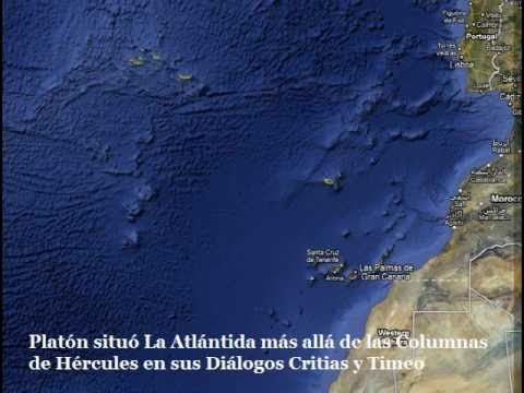 ¿Esta aqui La Atlantida? Curiosidades de Google Earth Maps Is here Atlantis?