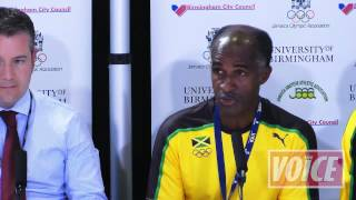 *FULL* Press Conference From Jamaican Open Training Session In Birmingham