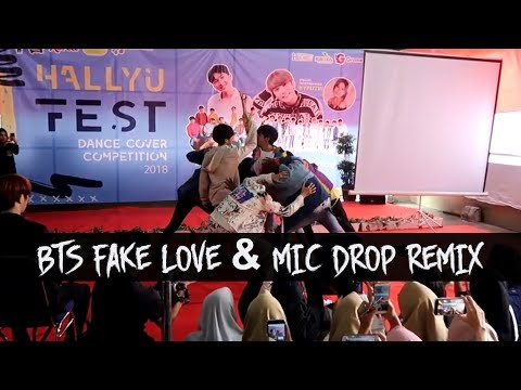BTS (방탄소년단) 'FAKE LOVE' + MIC DROP REMIX DANCE COVER BY INVASION BOYS