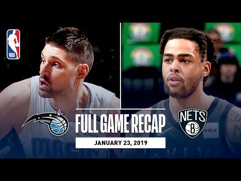 Video: Full Game Recap: Magic vs Nets | Russell & Dinwiddie Combine For 54 Points