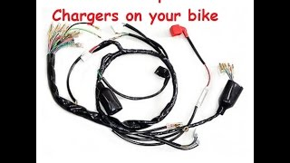 9. How to install a USB charger on to a Motorcycle