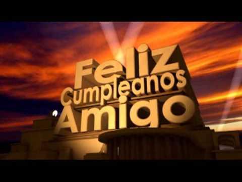 Feliz cumpleaños amiga - Feliz Cumpleanos Amigo