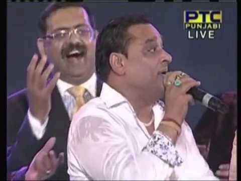Famous Punjabi Singers on stage live singing At PTC Music Awards 2013