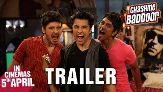Nonton Chashme Baddoor   Official Trailer   Ali Zafar  Divyendu Sharma  Siddharth And Taapsee Pannu Film Subtitle Indonesia Streaming Movie Download