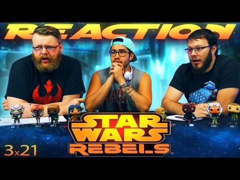 "Star Wars Rebels 3x21 REACTION!! ""Zero Hour: Part 1"""