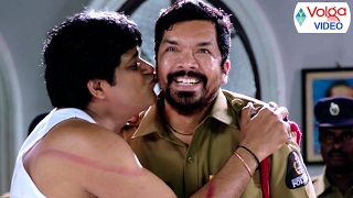 Telugu Movies Comedy Scenes In Police Station - Volga Videos