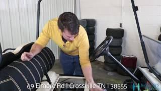 7. OIL CHANGE on a 2004 Club Car Ds Gas Golf Cart with McCulley's Online