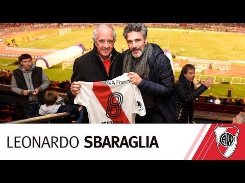 Leonardo Sbaraglia alentó al Millo