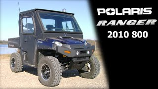 8. 2010 Custom Polaris Ranger 800 XP Full Steel Cab Super Swamper Tires
