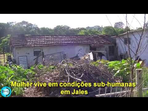 Jales - EXCLUSIVO - Mulher vive abaixo da linha da miséria em Jales.