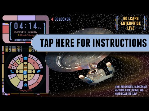 Video of STAR TREK LCARS LOCKER FREE