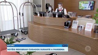 Hotel faz adaptação para receber hospedes durante pandemia